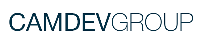 Camdev Group Logo Mobile App Development